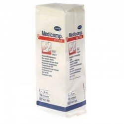 Medicomp non sterile 6 plis 5X5CM 100 *8314