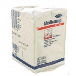Medicomp non sterile 6 plis 10X10CM 100 *8352