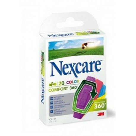 Nexcare Confort 360° strip brights 20