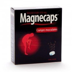Magnecaps crampes musculaires 30 effervescent comprimés
