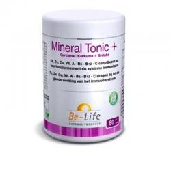 Be Life Mineral tonic + curcuma + shitake 60 gélules