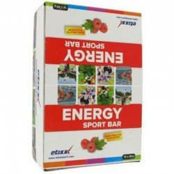 Etixx energy sport bar red fruits 12