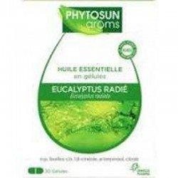 Phytosun Aroms Huile Essentielle Eucalyptus Radié 30 Gélules