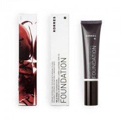 Korres Maquillage Fond de teint rose sauvage RF3 SPF15