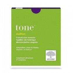 Tone -Baisse D'audition - Bruits Et Sifflements D'oreille 60 Comprimés