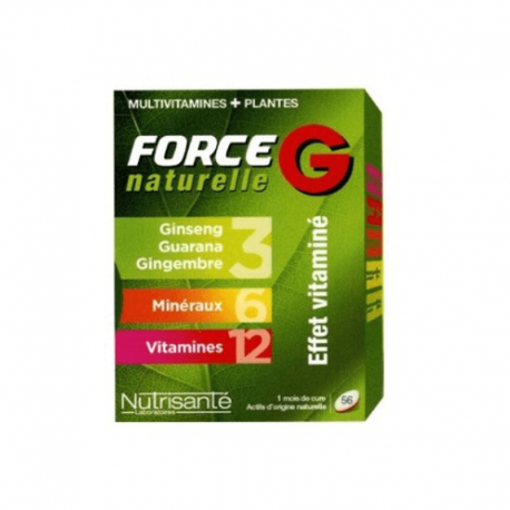 Force g natural energy 56 comprimés