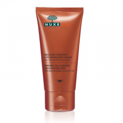 Nuxe Sun Emulsion Fondante Auto-Bronzante Visage 50ml