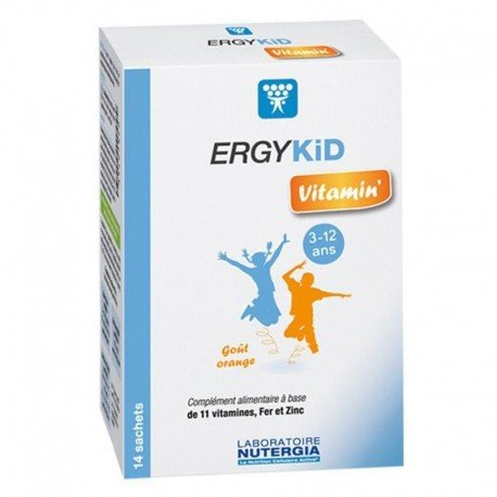 Nutergia Ergykid vitamin' 14 sachets