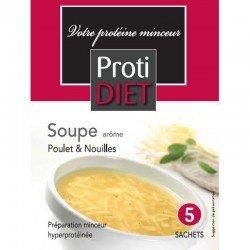 Protidiet Soupe poulet nouilles 5 sachets