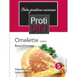 Protidiet Omelette bacon-fromage 5 sachets