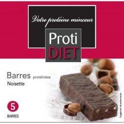 Protidiet Barre arome noisette poudre 5 sachet