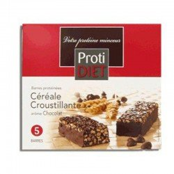 Protidiet Barre céréale chocolat 5 pièces