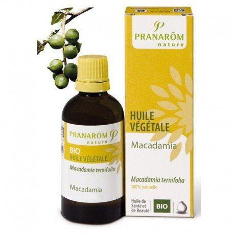 Macadamia huile vegetale bio fl 50ml