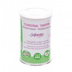 Saforelle Florgynal tampon probiotique compact super 9