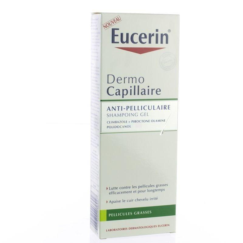 eucerin dermocapillaire shampoing gel anti pelliculaire 250 ml. Black Bedroom Furniture Sets. Home Design Ideas