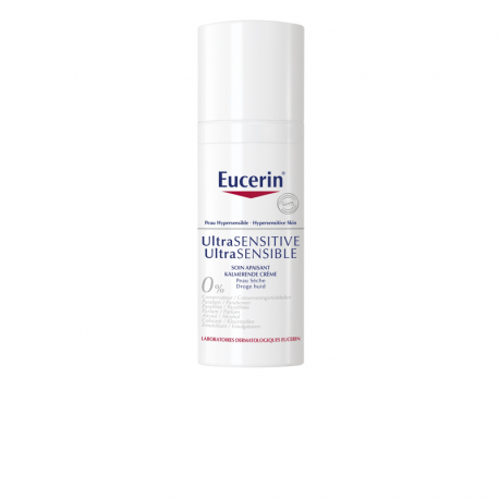 eucerin ultra sensible soin apaisant peau seche 50ml. Black Bedroom Furniture Sets. Home Design Ideas