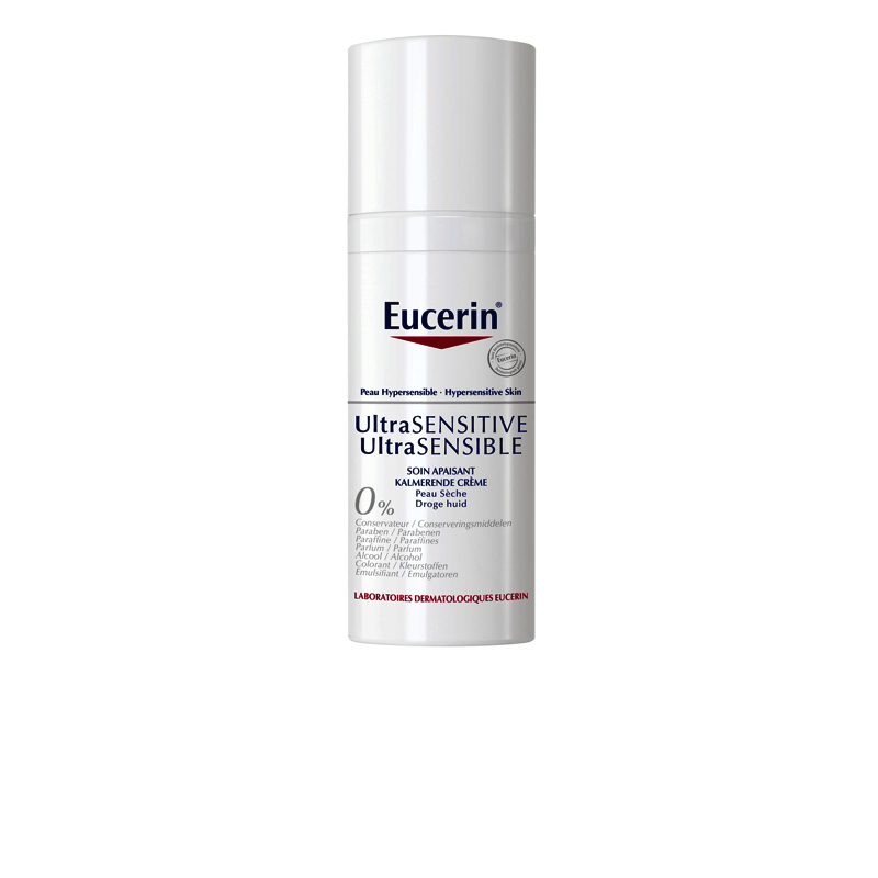 eucerin ultrasensible soin apaisant peau s che 50ml. Black Bedroom Furniture Sets. Home Design Ideas