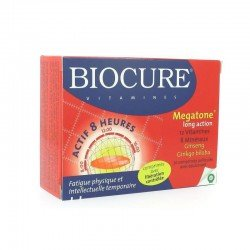 Biocure megatone long action 30 comprimés