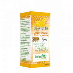 HerbalGem Propolis large spectre spray 15ml