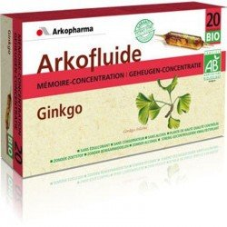 Arkofluides ginkgo bio ampoules 20x15ml