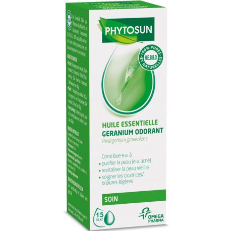 phytosun huiles essentielles g ranium odorant 10ml pharmasimple. Black Bedroom Furniture Sets. Home Design Ideas