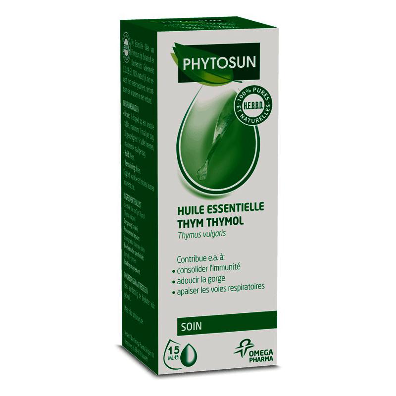 phytosun huile essentielle thym thymol 10ml pharmasimple. Black Bedroom Furniture Sets. Home Design Ideas