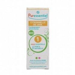 Puressentiel Citronelle de Java Huile Essentielle 10 ml