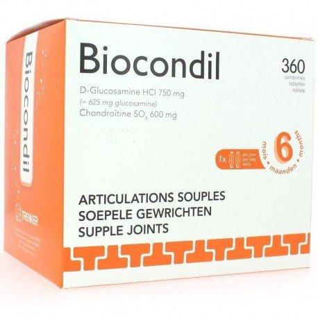 Biocondil 360 comprimés