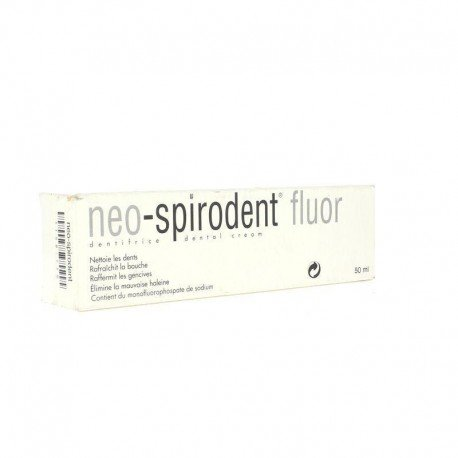 Neo-spirodent dentifrice au fluor nouvelle formule 50 ml