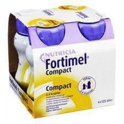 Nutricia Fortimel compact vanille 4x125ml