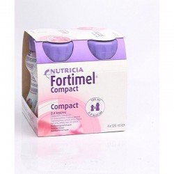 Nutricia Fortimel compact fraise 4x125ml