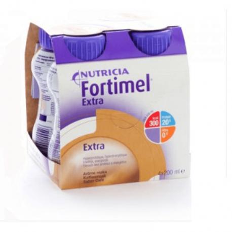 Nutricia Fortimel extra moka 4x200ml