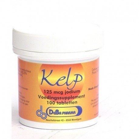 Kelp 125y iode comp 100 deba