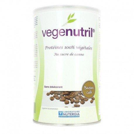 Nutergia Vegenutril boisson café pot 300g