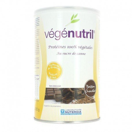 Nutergia vegenutril Boisson chocolat pot 300g