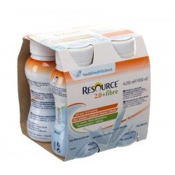 Resource 2.0 fibre neutre 4x200ml 100792