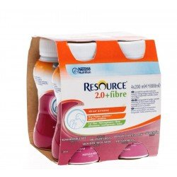 Resource 2.0 fibre fruit ete 4x200ml 100791