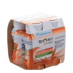 Resource 2.0 fibre abricot 4x200ml 100729