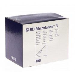 Bd microlance 3 aig.27g 3/4 rb 0,4x19mm gris 100