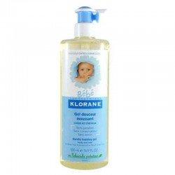 Klorane Bébé gel douceur moussant corps et cheveux 500ml