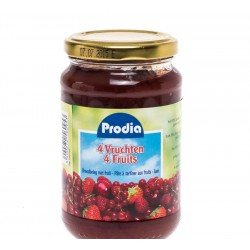 Prodia Pâte à tartiner 4 Fruits 370g