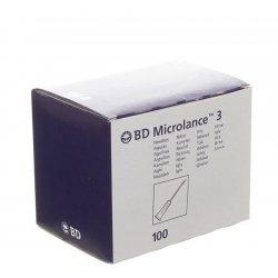Bd microlance 3 aig.27g 1/2 rb 0,4x13mm gris 1