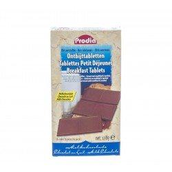 Prodia Tablettes Petit déjeuner Chocolat au lait 16x8g