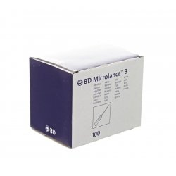 Bd microlance 3 aig. 25g 1 rb 0,5x25mm orange  100
