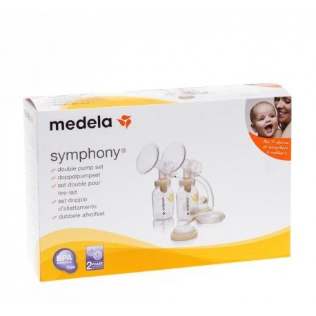 Medela set symphony double tire lait