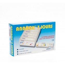 Anabox pilulier blanc 7 jours