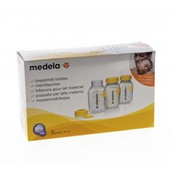 Medela set 3 bouteilles imprimees 150ml