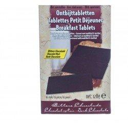 Prodia Tablettes Petit déjeuner Chocolat noir 16x8g