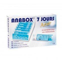 Anabox pilulier azur fr 7 jours