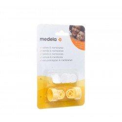 Medela vacuum set 2 clapets+6 membranes 8000727